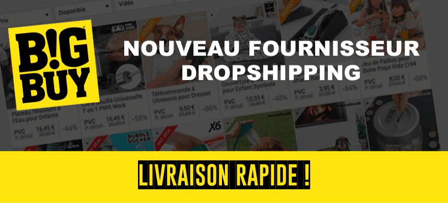 BigBuy : Fournisseur Dropshipping Européen - Livraison rapide !