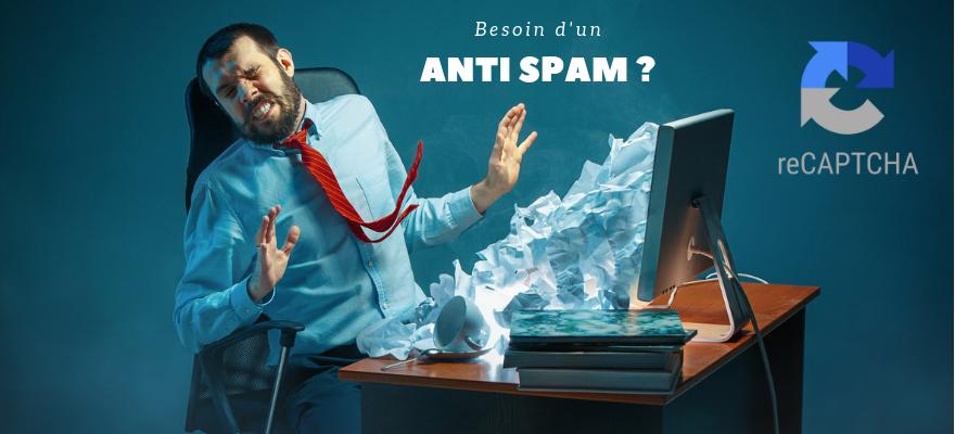 Stop le spam avec reCAPTCHA