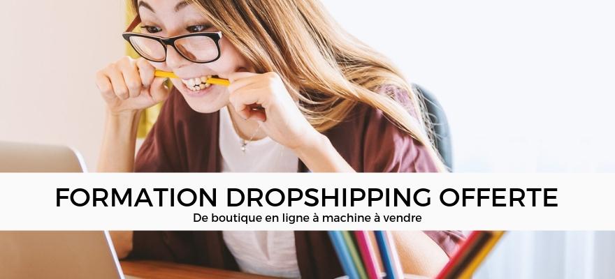 Formation dropshipping : Se former gratuitement à la vente en ligne sans stock !