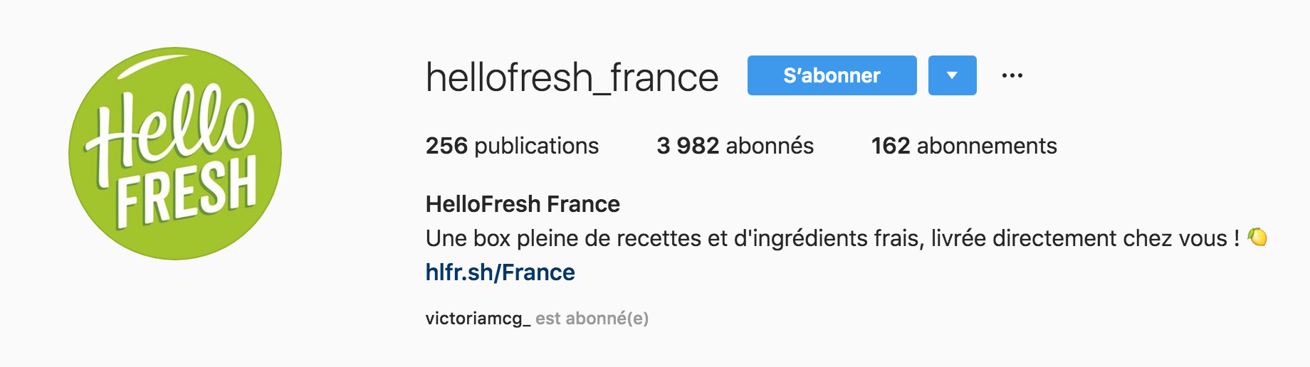 bio-instagram-hellofresh