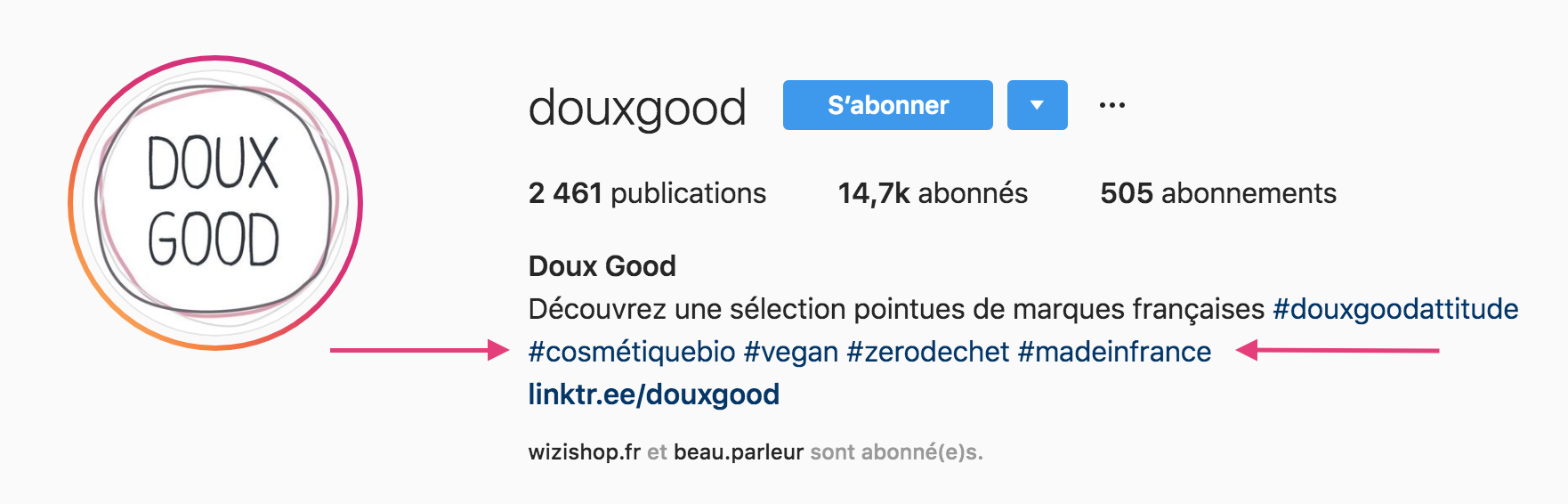 bio-instagram-douxgood