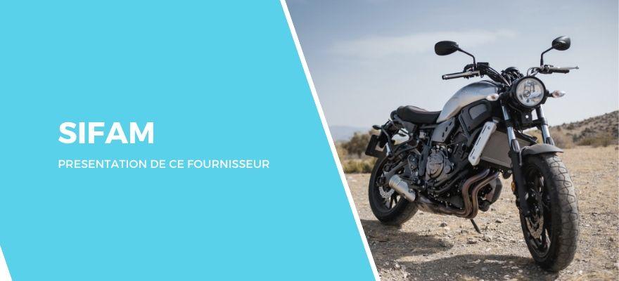 Sifam : Fournisseur équipements moto et pièces détachées en France