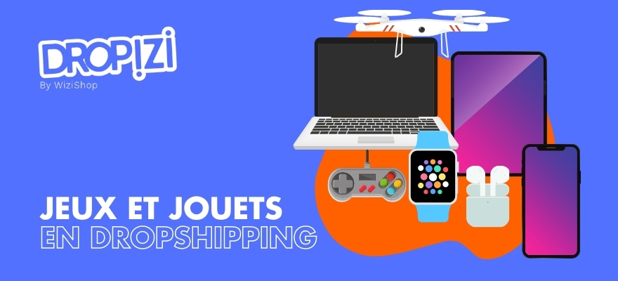 Les produits high tech en dropshipping : Drone, iphone, console
