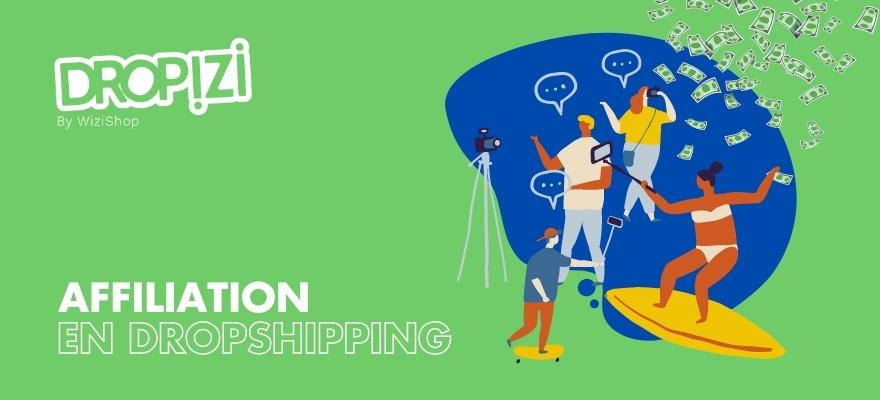 Utilisez l'affiliation pour votre boutique de dropshipping